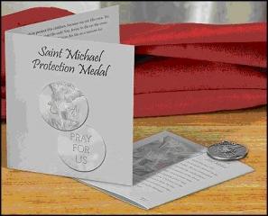 #1003 Saint Michael Medal